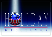 American Greeting Patriotic Holiday Cards